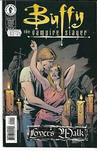 BUFFY THE VAMPIRE SLAYER: LOVER'S WALK (2001) -Cliff Richards Cover Back Issue