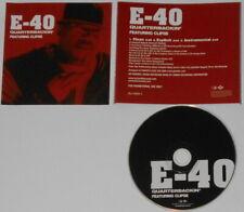 E-40 Clipse - Quarterbackin' x3 - 2003 U.S. promo cd