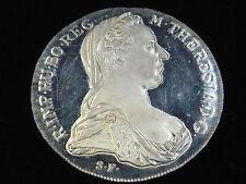 Einzelstück polierte Platte Münzen aus Österreich mit berühmter Persönlichkeit