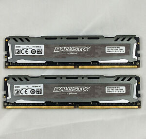 CRUCIAL Ballistix Sport 16GB (2x8GB) DDR4-2400 288-Pin Gaming Desktop PC Memory