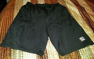 PEARL IZUMI TECHNICAL WEAR Athletic SHORTS Men's Small Black Zip Pockets elastic