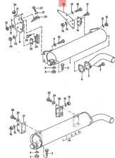 Genuine Volkswagen Web Plate Right NOS Vanagon syncro 24 25 068251370