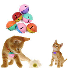 2pcs Double Color Ring Jingle Bell Dog Cat Kitten Animal Collar Play ToyAA
