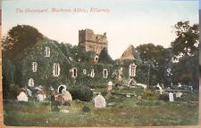 Irish Postcard MUCKROSS ABBEY GRAVEYARD Killarney Ireland Valentine