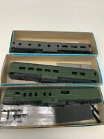 Ho Scale Passenger Train Car Shell Lot 3 Mix Undecorated SHELL Base ONLY N2-3