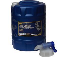 20 Liter MANNOL Automatikgetriebeöl ATF AG52 Automatic Special inkl. Auslaufhahn