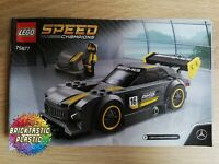 LEGO - INSTRUCTIONS BOOKLET ONLY Mercedes-AMG GT3 - Speed Champions - 75877