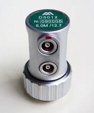 NDT 5MHz /12mm F10 Dual Element Ultrasonic Transducer Equality Krautkramer MSEB5