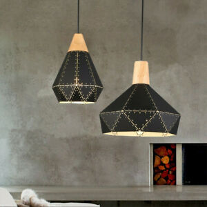 Black Modern Pendant Light Bar Lights Room Ceiling Lamp Home Chandelier Lighting
