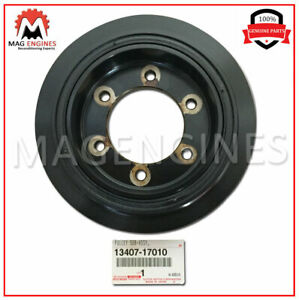 13407-17010 GENUINE OEM CRANKSHAFT PULLEY, NO.2 1340717010