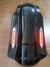 "4"" Stretched Rear FENDER COVER OVERLAY LED LIGHT 4 Harley Touring 97-08"