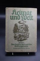 Heimat und Welt Band 5 Das deutsche Volk und sein Siedlungsraum von 1939