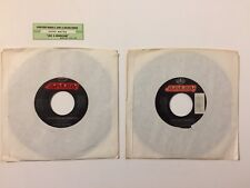 Lot 2 Kathy Mattea Singles Jukebox Strip Vinyl Records 18 Wheels Come From Heart