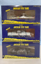 AMERICAN FLYER S TANK CARS 48431, 48419, 47966 NEW OB ...........TK