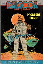 DALGODA N°1 + N°0 . Fantagraphics Books 1984 (Jan Strnad/Dennis Fujitake)