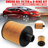 Engine Oil Filter & O-Ring Kit For Vauxhall Insignia 2.0 CDTi 2008-2016 95517794