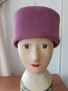 Vintage Women's Sonni Purple Turban style Hat