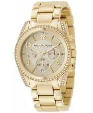 Michael Kors MK5166 Gold Runway Glitz Blair Chronograph Watch 100M