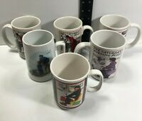 Saturday Evening Post Norman Rockwell Coffee Mugs Cups