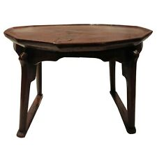 Antique Red  Wooden Joseon Dynasty Soban Table