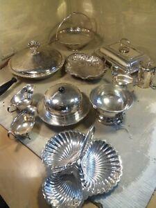 Job Lot  Silver Plate items