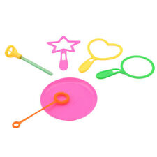 6pcs/Set Bubble Wand Tool Kids Toy Toys  Bubble Sticks Children Outdoor Blower
