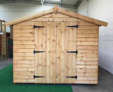 Garden shed Apex roof 19mm cladding 13 x 10  *FREE INSTALLATION*