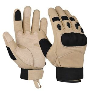 X-PRO Tactical Gloves Hard Knuckle Motorcycle Military Hunting Work Paintball