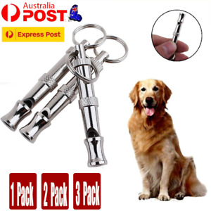 Pet Dog Puppy Training Obedience Whistle Ultrasonic Supersonic Adjustable AU