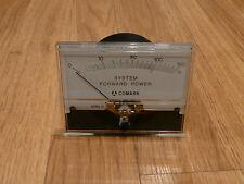 Yokogawa System Forward Power Meter, 0-150%, 1ma Full Movement, Comark