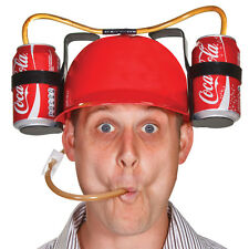 VERY AMUSING DRINKING HELMET LAUGH AT THE OFFICE PARTY