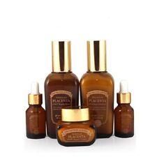 3W CLINIC Premium Placenta Skin Care 3Set+2 Ampoules Age Repair Skin Moisturing