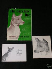 More details for rare dog book about the basenji 1st 1962 by bickering