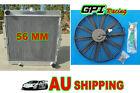 Aluminum Radiator for Toyota Land Cruiser Landcruiser 75 Serie HZJ75 90-01 & FAN