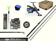 Complete Beginners Float  Match Fishing Outfit Set Kit Rod Reel Rest Shot Tackle
