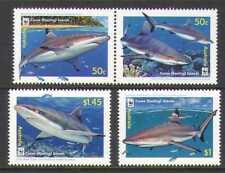 Cocos (Keeling) Islands 2005 Sharks/Coral 4v set n20695