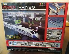 New 2012 Power Trains Deluxe City Train Set 30+ Feet Of Track 82 Pieces Jakks