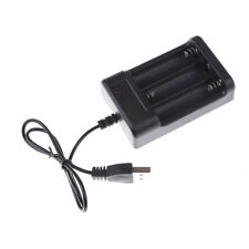 Black USB Battery Charger AA 3Ports Battery Charger Charger Toy PartsSC