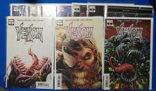 Venom Comic Lot 1-10 (3,7,9) Full 1st App Knull AND Dylan Brock All 1st Print NM