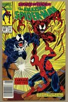Amazing Spider-Man #362-2015 nm+ 9.6 Marvel 2nd Carnage Newsstand Cover Edition