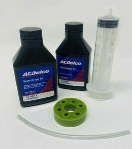 Supercharger Coupler Isolator Oil Change Kit Jaguar Land Rover Range 5.0