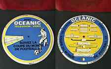 ancien plv ? OCEANIC COUPE DU MONDE FOOTBALL 1982 regle de a calcul collection