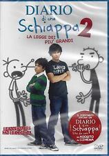 Dvd Video **DIARIO DI UNA SCHIAPPA 2 DUE ~ LA LEGGE DEI PIÙ GRANDI** nuovo 2011