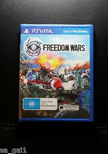 Freedom Wars NEW / SEALED (PlayStation Vita, 2014) PSVITA PS VITA - FREE POST