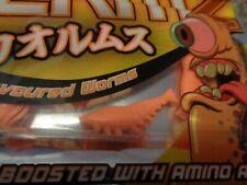 Artificial bait shrimp orange colour with additive