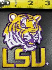 """LSU Tigers NCAA 3""""x3"""" Iron/Sew on Embroidered  Patch~FREE SHIPPING FROM THE USA~"""