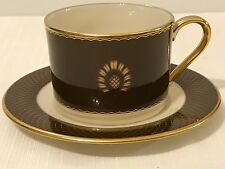 Lenox By Colin Cowie Au Courant Cocoa Coffee Cup And Saucer Haute Couture USA