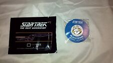 Loot Crate July 2016 Exclusive Star Trek Plaque and Pin Set