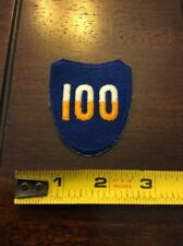 WWII 100th INFANTRY DIVISION SHOULDER PATCH  NEW