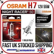 1x OSRAM H7 NIGHT RACER 50 BULB FOR DUCATI DIAVEL Diavel Cromo 04.12 - 12.13